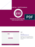 SBS Manual de uso - Plataforma LMS (Perfil Estudiante)