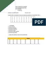 ESTADISTICA- Distribicion de frecuencias