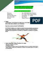 MODULO 7   3°  Ed. Fisica
