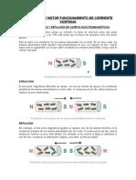 Principios de Motor Funcionamiento de Corriente Continua