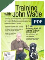 Dog Training with John Wade
