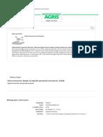 Soils manual for design of asphalt pavement structures