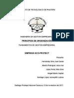 Principios de Organizacion EcoProtect