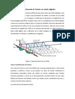La transformada de Fourier en señales digitales