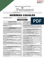 Normas Legales miércoles 20 mayo 2020