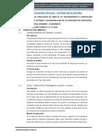 04.01 ESPECIFICACIONES TÉCNICAS - SISTEMA DE AGUA POTABLE LINEA DE CONDUCCION