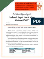Plan de Manejo Ambiental (PMA) de la Empresa UNIPALMA S.A. - Marlon Vergara