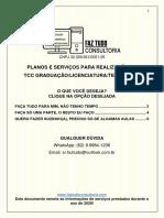 Planos de Serviços - TCC