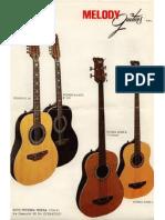 Melody Guitar Catalogue