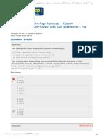 SAP Certified Technology Associate - System Administration (SAP HANA) with SAP NetWeaver - Full _ ERPPrep (1).docx
