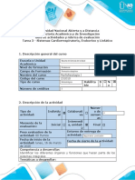 Guía de actividades y rúbrica de evaluacion - Tarea 3 - Sistemas Cardiorrespiratorio, Endocrino y Linfático