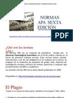 NORMAS APA 6TA EDCION