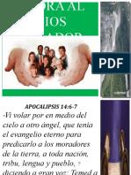 Adora al dios