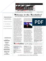 Revolution Ministries Newsletter Dec 2010