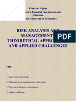 Risk Analysis and Management - Theoretical Approaches and Applied ...
