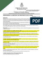 RENOVANDO EL SENTIDO DE PROPOSITO EN LA VIDA         Zacarias 2-1-13