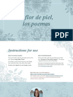 INTRODUCCION A LOS POEMAS