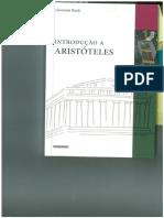 b) Introdução a Aristóteles