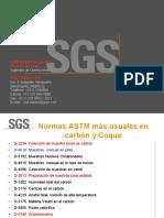 APLICACION DE LAS NORMAS ASTM E  ISO EN LOS PROCEDIMIENTOS DE MUESTREO DE CARBON Y COQUE - copia