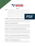 Lista de Exercícios - Biotermologia