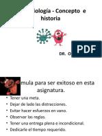 MICROBIOLOGÍA,CONCEPTO E HISTORIA