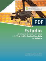 Estudio de Diagnóstico Del Servicio de Televisión Radiodifundida