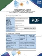 Guía de actividades y rúbrica de evaluación - Fase 5 - Evaluación Nacional POA (prueba objetiva abierta).docx