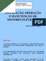 Instalação, operação e manutenção de motores