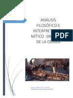 ANÁLISIS FILOSÓFICO E INTERPRETACIÓN MÍTICO -SIMBÓLICA DE LA ODISEA