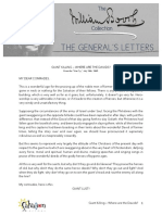 The General's Letters C30 - Giant Killing