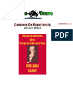 Blake William - Cantares de Experiencia