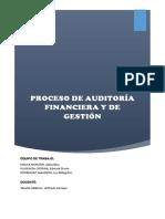 PROCESO DE AUDITORIA FINANCIERA Y DE GESTION