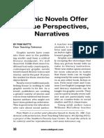 Novelas graficas en la enseñanza