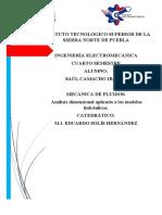 analisis dimensional aplicado a los modelos hidraulicos