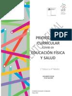 Educ Física y Salud Priorización Curricular