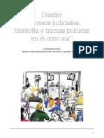Sarrabayrouse - Dossier Procesos judiciales