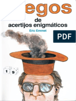 JUEGO DE ACERTIJOS ENIGMÁTICOS