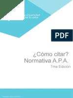 Manual con adaptación a normas apa7-1