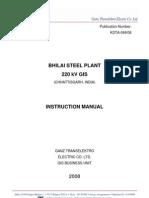 220kV GIS Installation and Testing Procedure