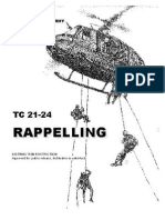 Army Rapelling Manual