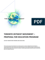 Zeitgeist Movement - Toronto Activist Orientation Training
