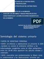 Semiología  del  sistema  urinario(1)