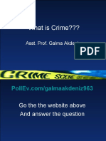 Class 2 What is crime
