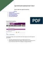 Yahoo Mail Beta