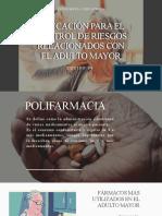Polifarmacia y Vacunación en el Adulto Mayor