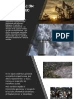 Contaminación Por Petroleo