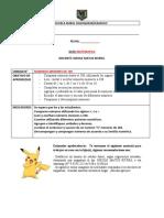 GUIA DE APRENDIZAJE 2 BASICO NUMEROS MENORES DE 100