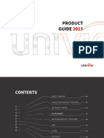 Uniview Product Guide 2015 V3.0