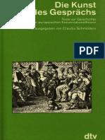 Die Kunst des Gesprächs. Texte zur Geschichte der europäischen Konversationstheorie