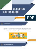 Presentación # 12. Modelo de costo por procesos